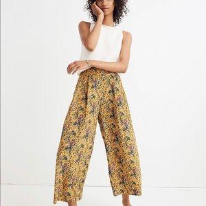 Madewell x Karen Walker Silk Floral Pants Sz 2